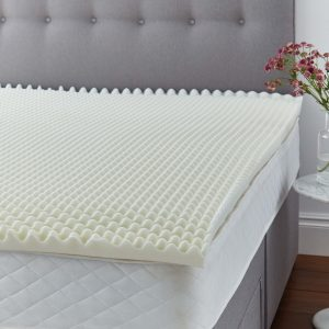 Silentnight Orthopedic 5cm Mattress Topper (No Cover Provided)