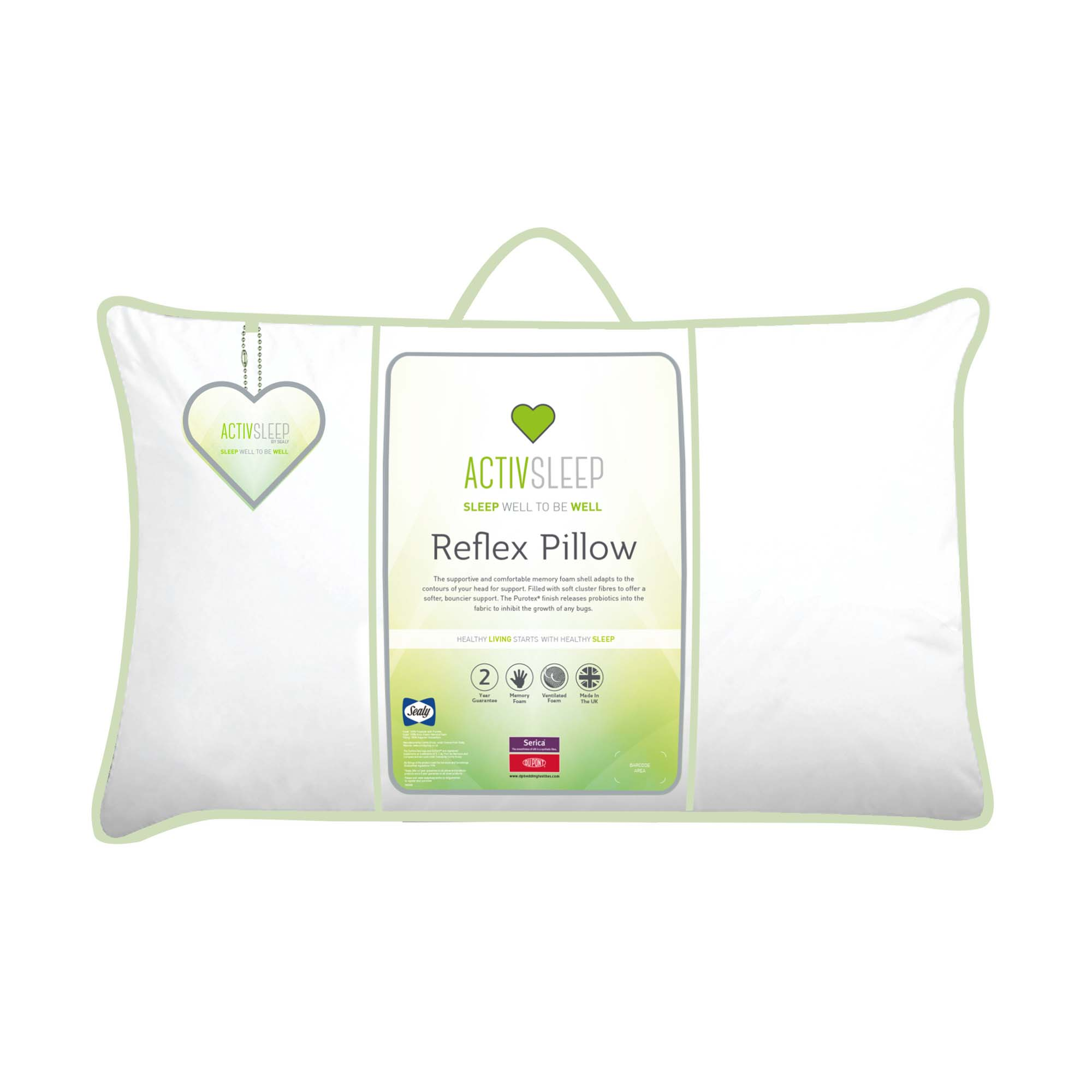 Sealy ActivSleep Reflex Memory Foam Pillow