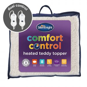 Silentnight Comfort Control Heated Teddy Topper