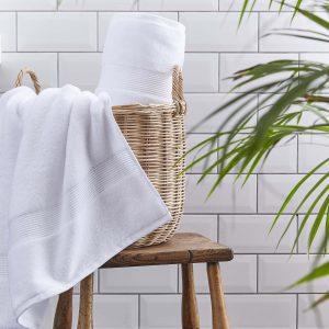 Silentnight Plain Towels - White