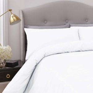Silentnight Pure Cotton Duvet Cover Set - White