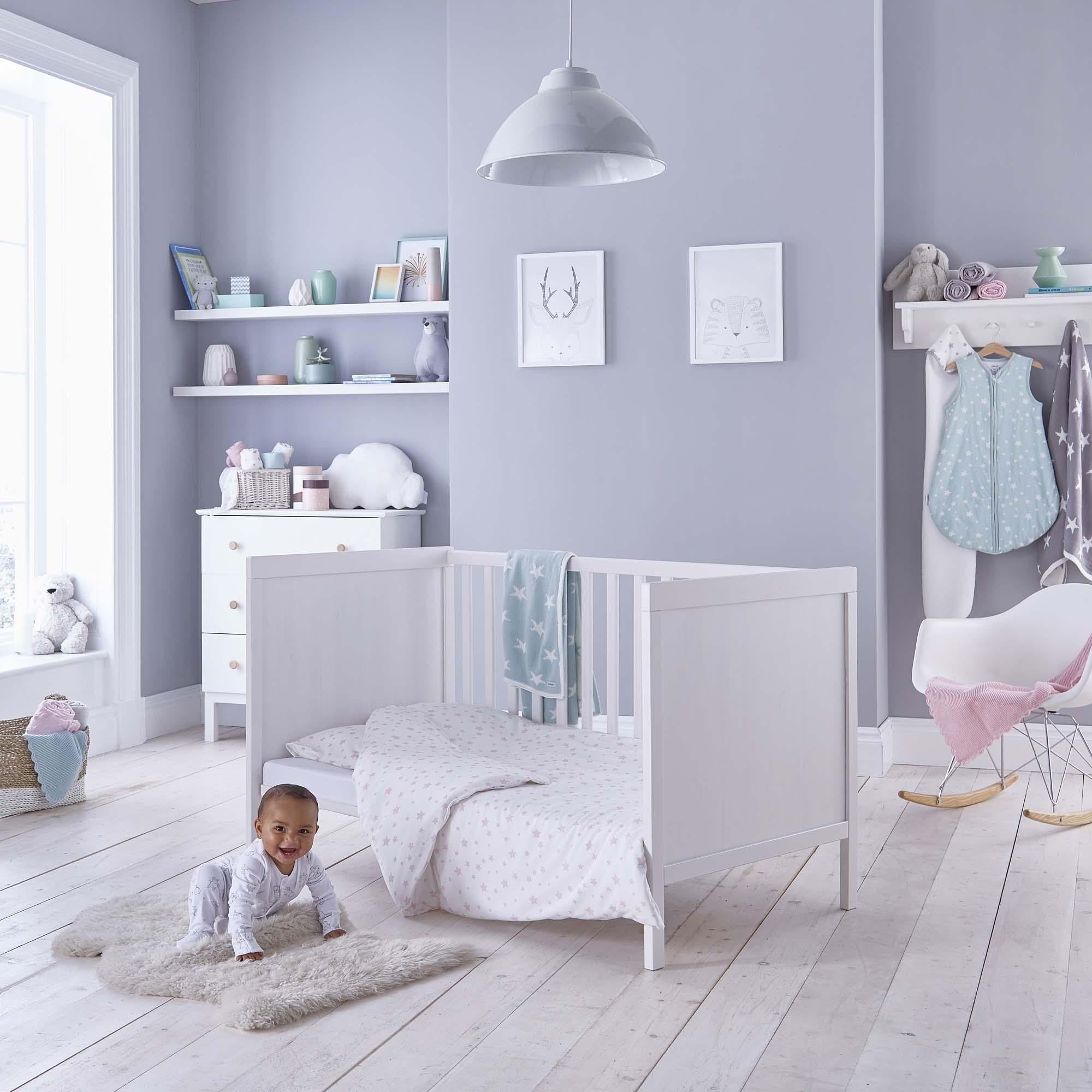 0-6 Months Pink Silentnight Safe Nights Alphabet Baby Sleep Bag