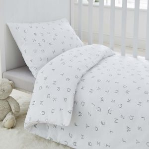 Silentnight Safe Nights Alphabet Duvet Set - Cot Bed