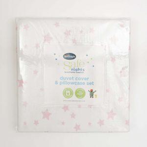 Silentnight Safe Nights Cot Bed Duvet Cover & Pillowcase Set