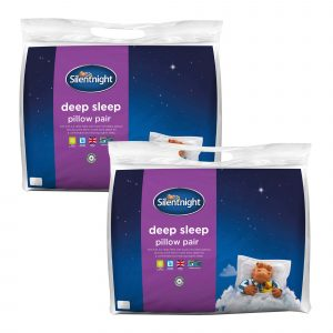 Silentnight Deep Sleep Pillow - 4 Pack