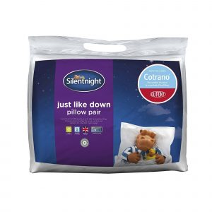 Silentnight Just Like Down Plus Pillow - 2 Pack