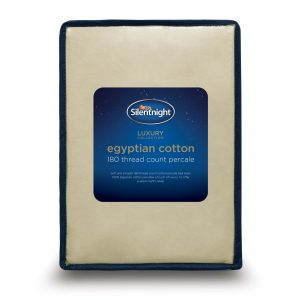 Silentnight Pure Cotton Fitted Sheet - Stone
