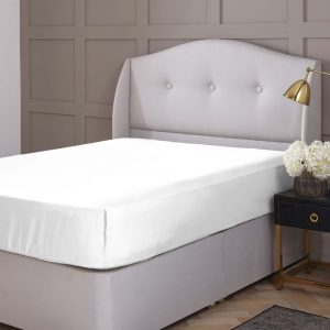Silentnight Pure Cotton Fitted Sheet - White