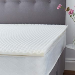 Silentnight Orthopedic 3cm Mattress Topper (No Cover Provided)