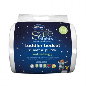 Silentnight Safe Nights Toddler Bedset - 9 Tog