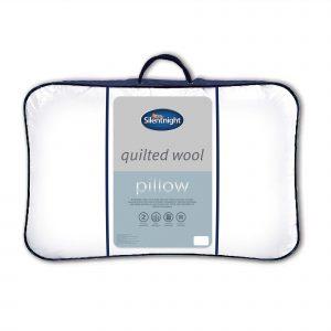 Silentnight Quilted Wool Pillow